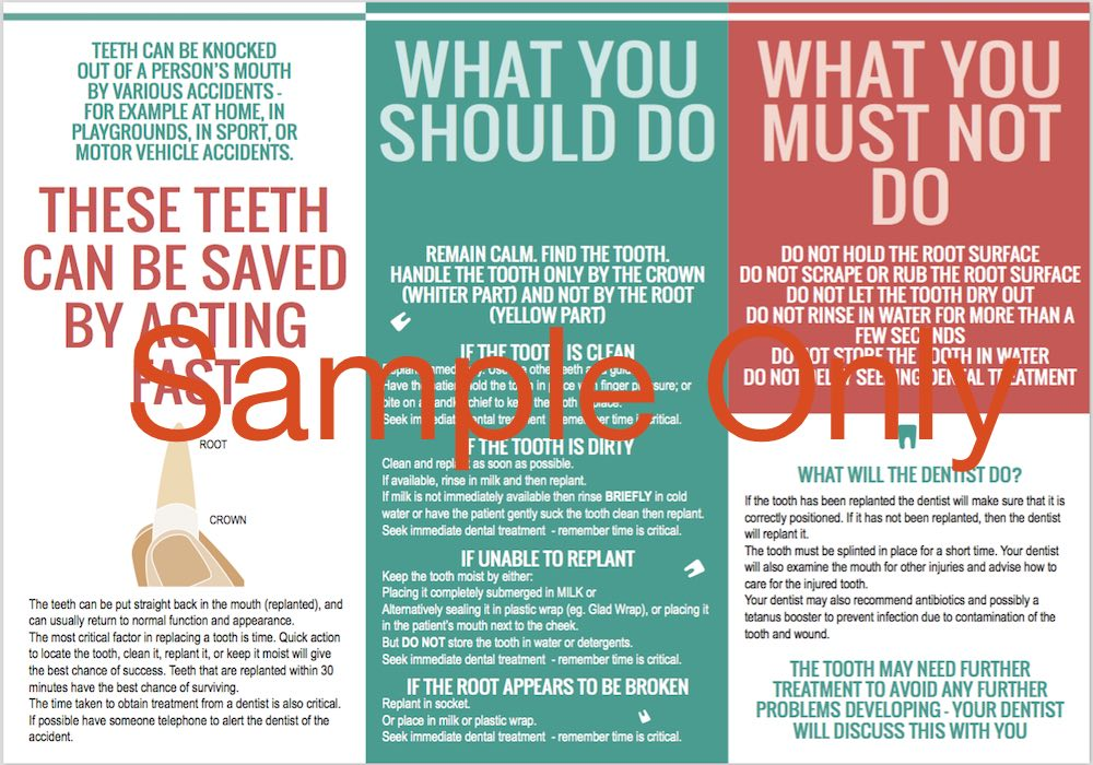 ASE Brochure (Root Canal Treatment)- Save the Tooth
