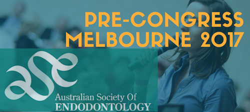 Pre-Congress Meeting & 37th Australian Dental